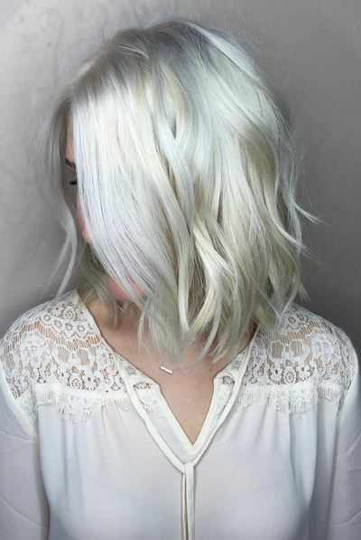 Platinum Silver Hair Hair Color Pinterest Beautiful