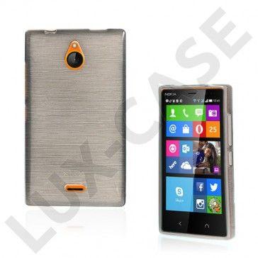 Bremer (Harmaa) Nokia X2 Suojakuori