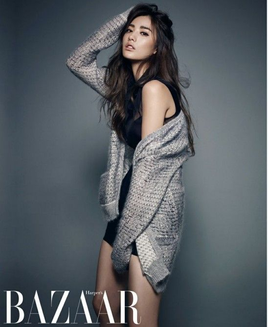 After School's Nana is Featured on Harper's Bazzar July Issue   Koogle TV