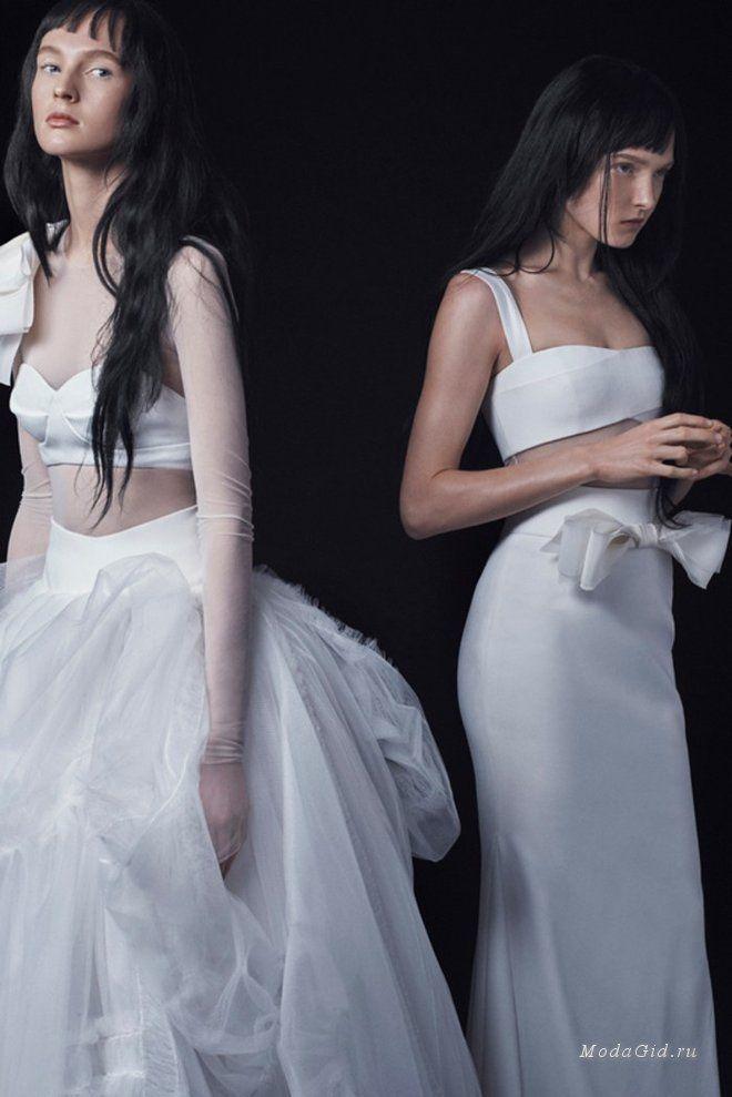 Свадебная мода: Свадебные платья Vera Wang, осень-зима 2016-2017