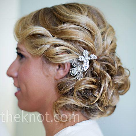 cute: Hair Ideas, Weddinghair, Bridesmaid Hair, Weddings, Beautiful, Wedding Hair Style, Wedding Hairstyles, Updo, Side Buns
