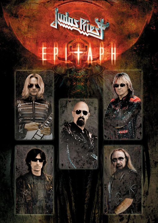 """British heavy metal legends JUDAS PRIEST played the final show of their """"Epitaph"""" world tour this past Saturday, May 26 at the Hammersmith Apollo i."""