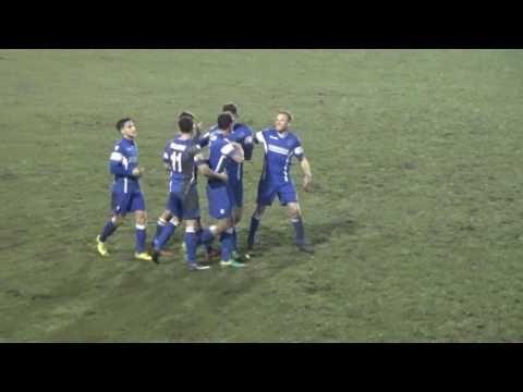 Extended Highlights | Buxton FC 1 - 3 Stafford Rangers | Evo-Stik Prem [ 17.01.17]