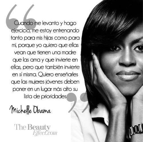 Michelle Obama... Mis respeto para esta mujer