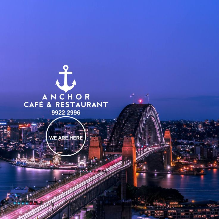 We are hiding under the #SydneyHarbourBridge next to #LunaPark ⭐ Find us for authentic #PIZZAandPASTA Taste the difference! ⬇ For MENU & BOOKINGS ☎ 02-99222996 or Visit our website 🌐 www.anchorrestaurant.com.au ⚓ ANCHOR Cafe & Restaurant (02) 9922 2996  #SydneyLunaPark #HarbourBridge #anchorcafe #anchorrestaurant #anchorestaurant #milsonspoint #kirribilli #lavenderbay #northsydney #nthsyd #lowernorthshore #neutralbay #mosman #crowsnest #sydneyrestaurants #sydneycafes #sydneypizza…