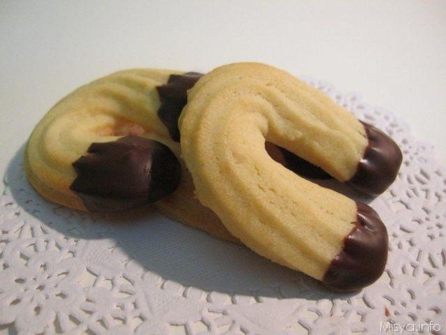 » Biscotti di frolla montata Ricette di Misya - Ricetta Biscotti di frolla montata di Misya