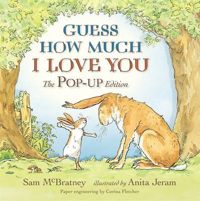 This is the perennial bestseller - one of the world's best-loved picture books - in an exquisite brand-new pop-up edition. With sales of over 23 million copies, Guess How Much I Love You tells the story of a game Big Nutbrown Hare and Little Nutbrown Hare play as they try to express their love for each other. But as each tries to outdo the other, they discover that love is not an easy thing to measure! This gorgeous new pop-up edition is one that children will ask for time and again…
