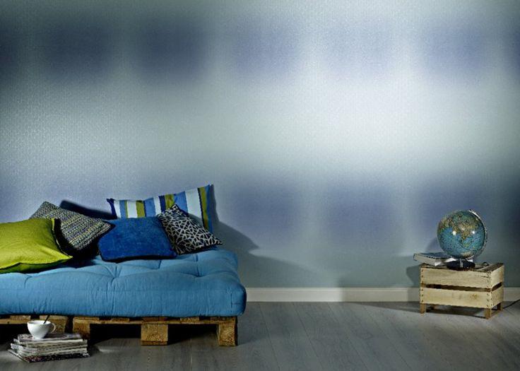 RASCH Inspiration: papier peint trompe l'oeil ou effet matière - Marie Claire Maison #papierpeint #lepapierpeint