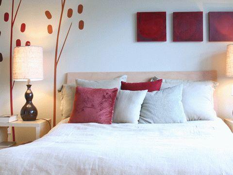 Colore in Interior Design - Consigli - Camera da letto (rosso)