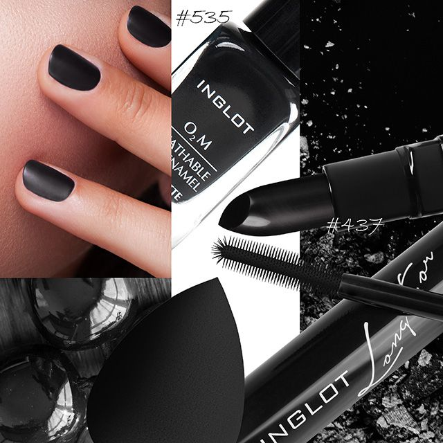 Reveal your dark side #blackswan #mascara  #mattnails