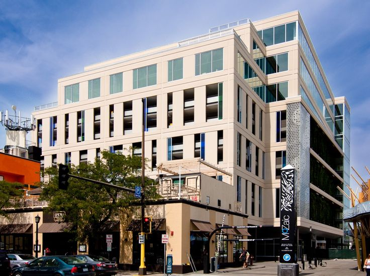 Precast; Concrete; Mixed Use: MoZaic - Minneapolis, MN; General Contractor: Ryan Companies US, Inc.; Architect: Boarman Kroos Vogel Group, Inc.; Engineer: BKBM Engineers; Products: Architectural Cladding, Insulated Wall Panels; Finishes: Acid Etch, Sandblast