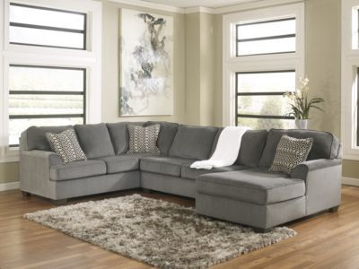 Loric 3 Piece RAF Sectional $2294.97 | Smoke | Ashley Furniture Canada · Living  Room ... - 25+ Best Ideas About Ashley Furniture Canada On Pinterest Family