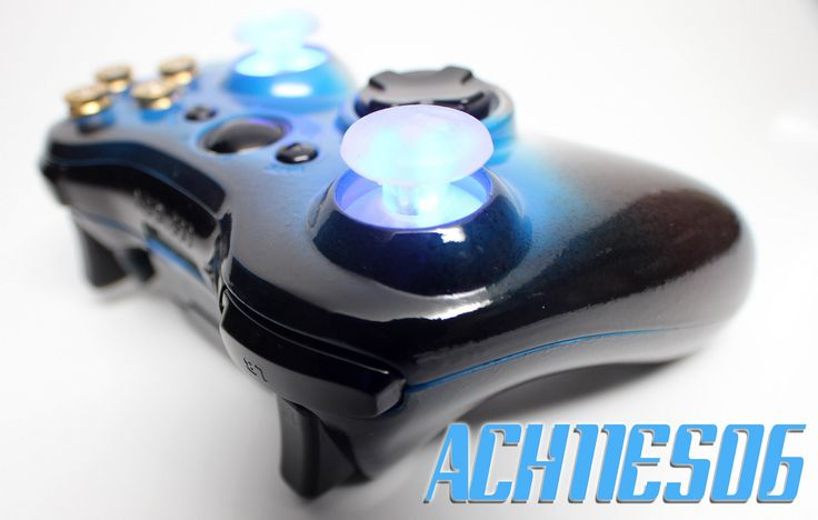 cool ACH11ES06 with Heat Sensitive Paint, Customized Xbox 360 Controller by ProModz.com