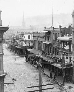 Old Portland Chinatown, 1890s