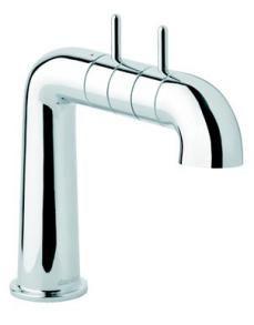 Damixa A-Pex Håndvaskarmatur m/Bundventil Krom