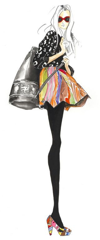 Angie-rehe-gorman-melbourne-fashion-illustration_large - sweet illustration style, love the edgy quality fused with elegance. very hot!