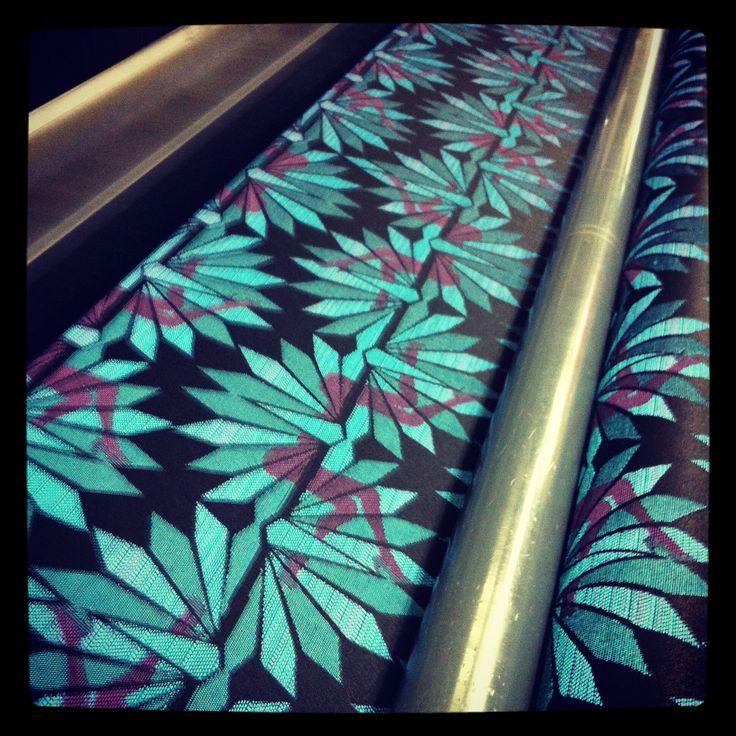 Textil 'Baba de Oso'inspirado en el pulque y su efecto afrodisiaco.