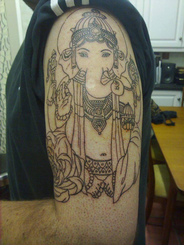 Ganesh tattoo | Elephant tattoos & art | Pinterest ...