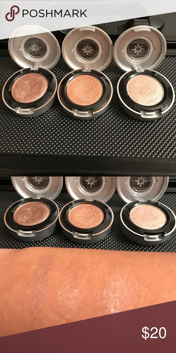 Set of 3 Urban Decay Eyeshadows Selling as a set or each individually. They are displayed from left to right as follows: YDK, Chopper, Midnight Cowboy Rides Again. Retail at $19 each. Bought online rather than testing them in store. Once tried, I did not return them. Accepting reasonable offers. Urban Decay Makeup Eyeshadow