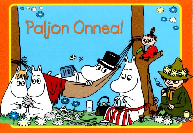 Moomins from Finland