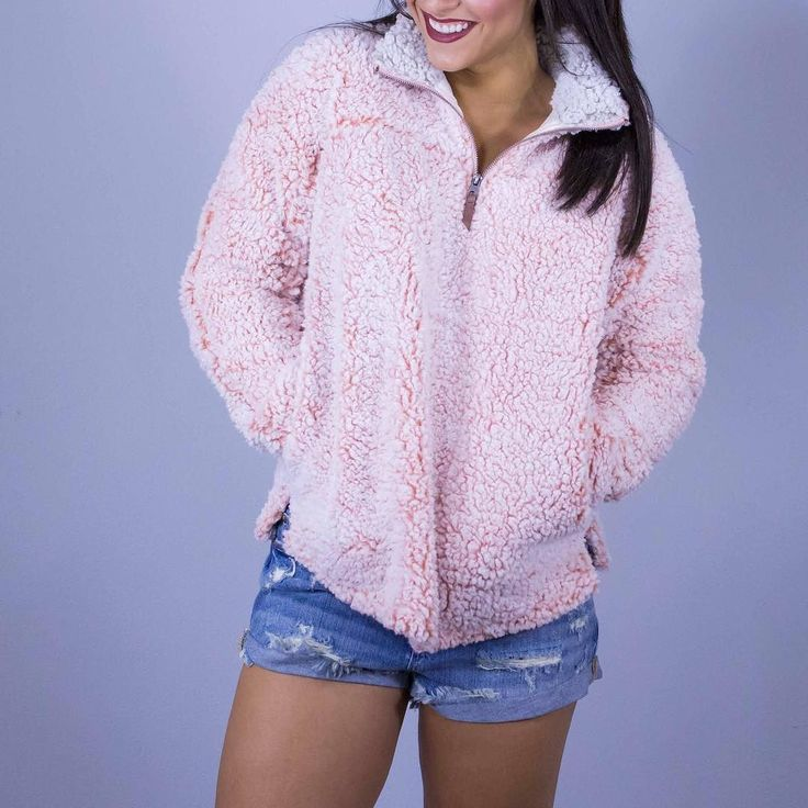 Some times fall weather  means warm during the day then cold at night... don't worry! We have the cutest pullovers! Come check them out - we are open 10 am - 7 pm today! www.shopelysian.com Camp Ground Bound Pullover in Blush $72. online  in-store. Malibu Girl Friend Cut Offs 40% Off --> NOW $40.80. in-store only. #WearElysianDaily http://ift.tt/2jZP6NZ Some times fall weather  means warm during the day then cold at night... don't worry! We have the cutest pullovers! Come check them out - we…