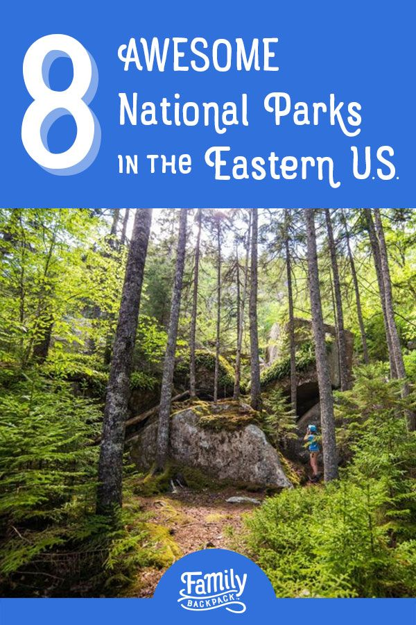 Eight Great National Parks – in the East | National Parks ...