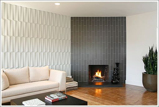 Modern Corner Fireplace Fireplaces Pinterest Modern
