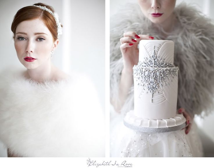 Jenny Packham + The Caketress = lovefest
