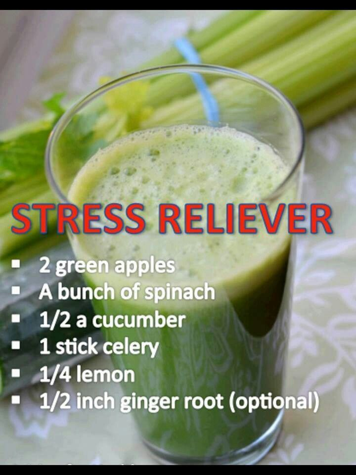 Stress relief. I may have to try this. I always get stressed when hubby goes to work for days at a time.
