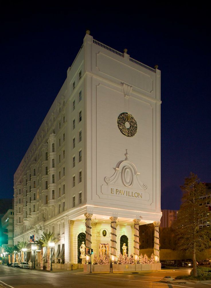 Le Pavillion Hotel in new orleans