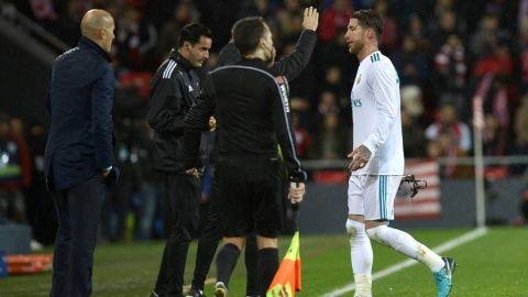 Sergio Ramos red card record makes grim reading