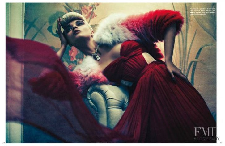Sebastian Kim As Time Goes By in Vogue Germany with Crystal Renn