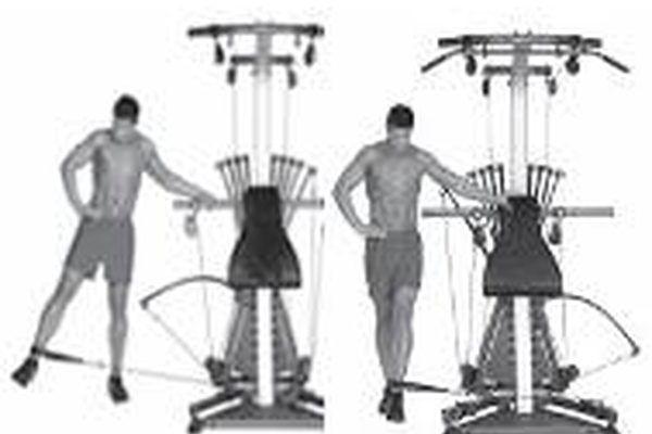 How to Do Leg Exercises on Bowflex Extreme 2 SE | eHow