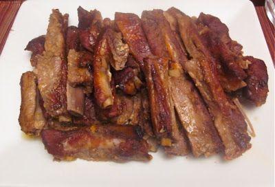 """Невыразимая легкость кулинарного бытия...: Свиные ребрышки под соусом """"Барбекю"""""""