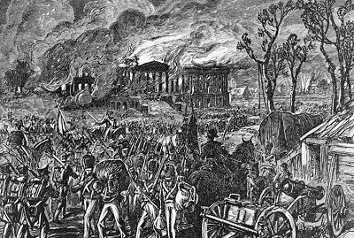 http://ift.tt/2xxLztB that during the burning of Washington D.C. in the War of 1812 a tornado formed in the middle of the city and headed toward Capitol Hill killing British soldiers and destroying cannons. After the rains that came with the tornado put out the flames the British decided to leave the city.