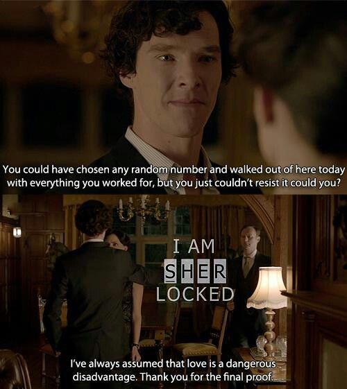 """Scandal in Begalgravia"" Gosh, this is my favorite scene. So many people ship Sherlolly or Johnlock, but I just love love love IrenexSherlock!"
