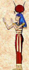 Hathor Diosa de la alegría, de la maternidad y del amor. Protectora de las mujeres embarazadas y del parto. Ayudaba a los niños a venir al mundo, como diosa de la fertilidad y de la vida.