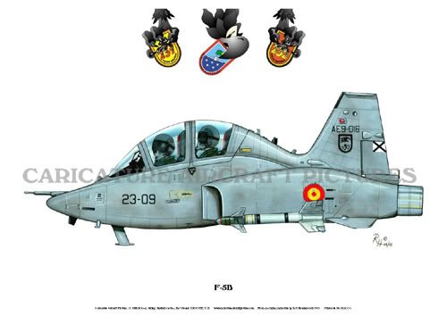 Caricature Aircraft Pictures spanish f5
