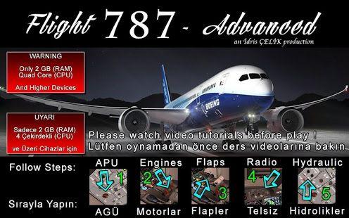 Flight 787 - Advanced – miniatura snímku obrazovky