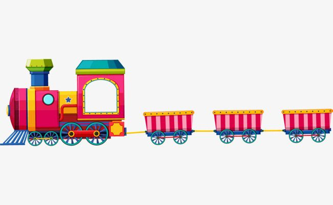 Vector Toy Train Toy Train Train Cartoon Train Png Transparent Clipart Image And Psd File For Free Download Train Cartoon Toy Train Train