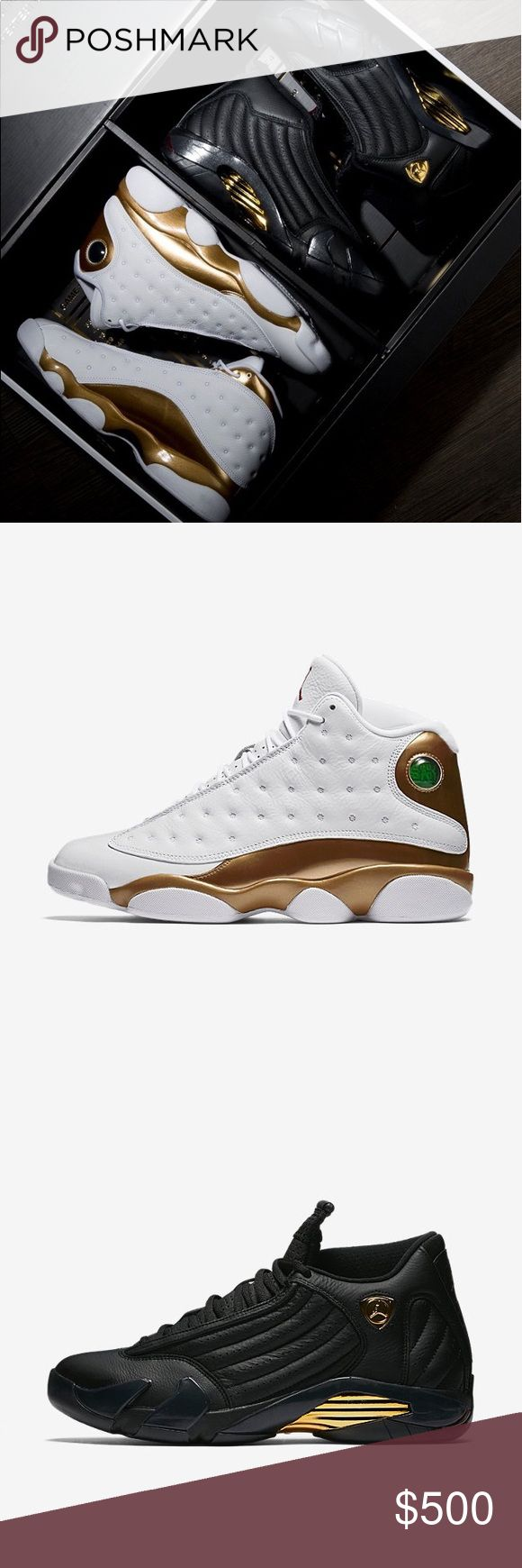 New Air Jordan XIII/XIV DMP Men's Shoe Pack Dead stock Jordan pack, includes one Jordan 13 and one Jordan 14 Jordan Shoes Sneakers
