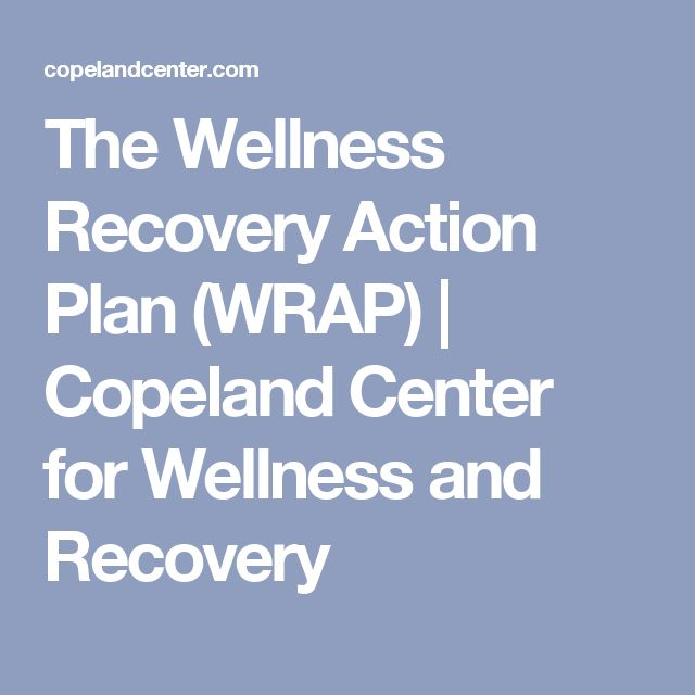 The 25+ best Wellness recovery action plan ideas on Pinterest - free action plans