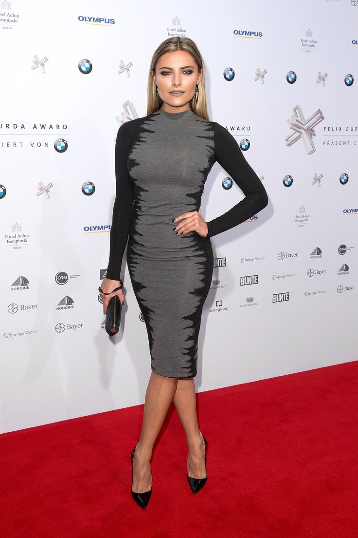 Sophia Thomalla beim Felix Burda Award im April 2015