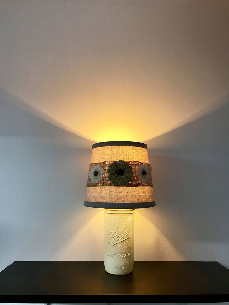 Rustic Mason Jar Lamp, wide mouth ball jar, ball jar light, rustic night light, rustic decor, decorative lamp, rustic, night light by CaliradoArt on Etsy https://www.etsy.com/listing/527894723/rustic-mason-jar-lamp-wide-mouth-ball
