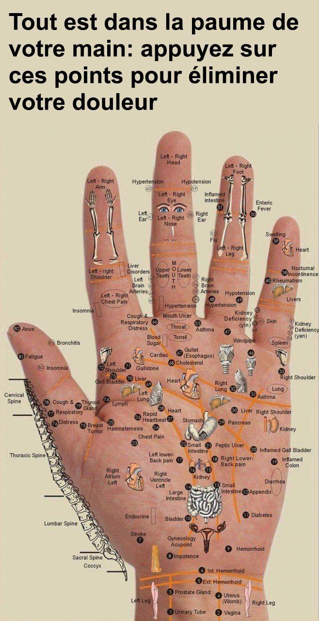 Alles befindet sich in Ihrer Handfläche: Drücken Sie auf diese Punkte, um Ihre Schmerzen zu beseitigen