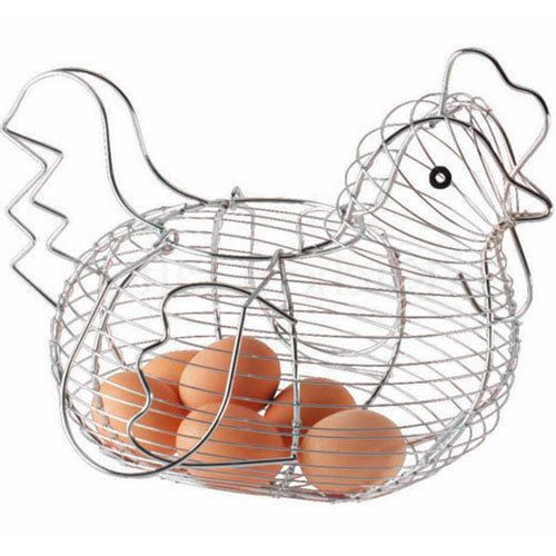 Now available on our store San Deigo Chrome ..., enjoy our latest collections at http://gsr-decor.myshopify.com/products/chrome-chicken-shaped-egg-basket. Visit us now.