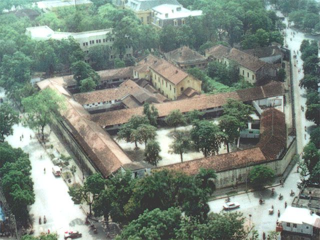 This is the Hanoi Prison where most of the American Prisoners of War were kept.