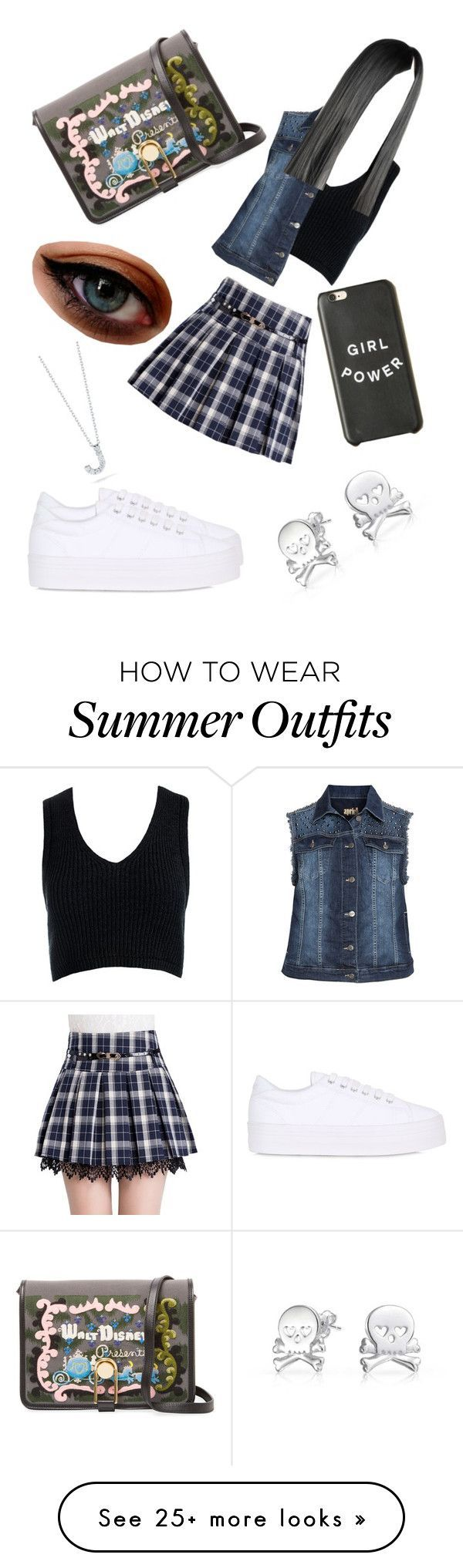 """Summer Outfits : """"Girls Day Outing Outfit"""" by cooljen13 on Polyvore featuring Sans Souc"""