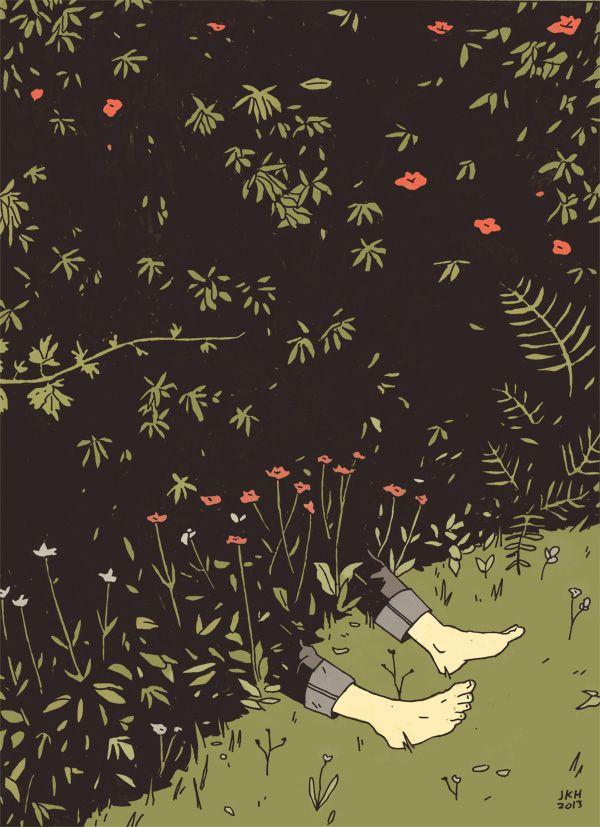 Flowering Shrubs and Plants, James Kimrey Hindle (After Jan Van Eyck)