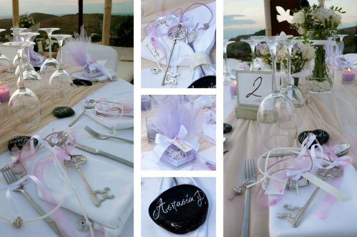 Romantic wedding/Kea - EVENT DESIGN & PRODUCTION - mazi - design & creation services